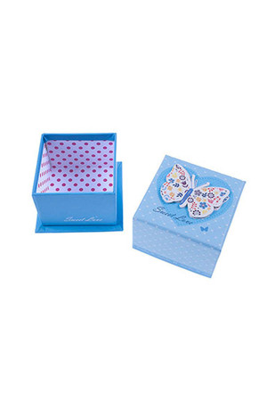Mavi Kelebek Hediye Kutusu - Thumbnail