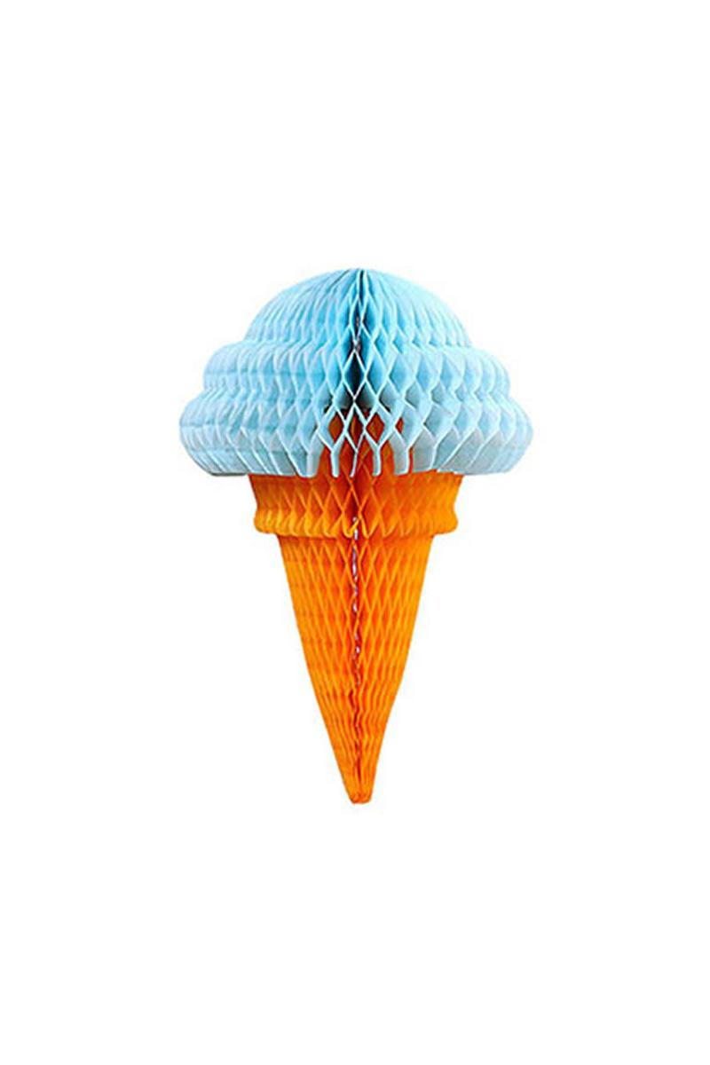 Mavi Külah Dondurma Petek Süs 1 Adet