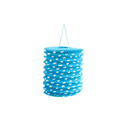 Mavi Puantiyeli Gemici Fener