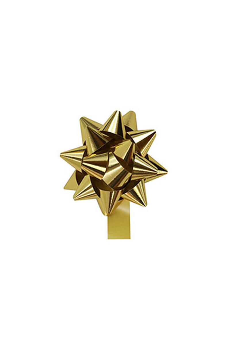 Metalik Altın Fiyonk Süs 8li