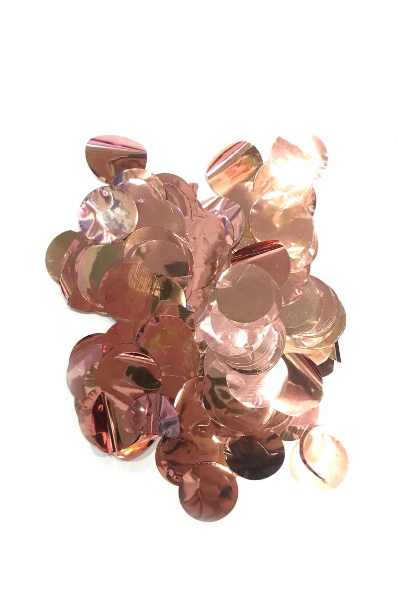 Metalize Rose Gold Balon Konfetisi 10gr