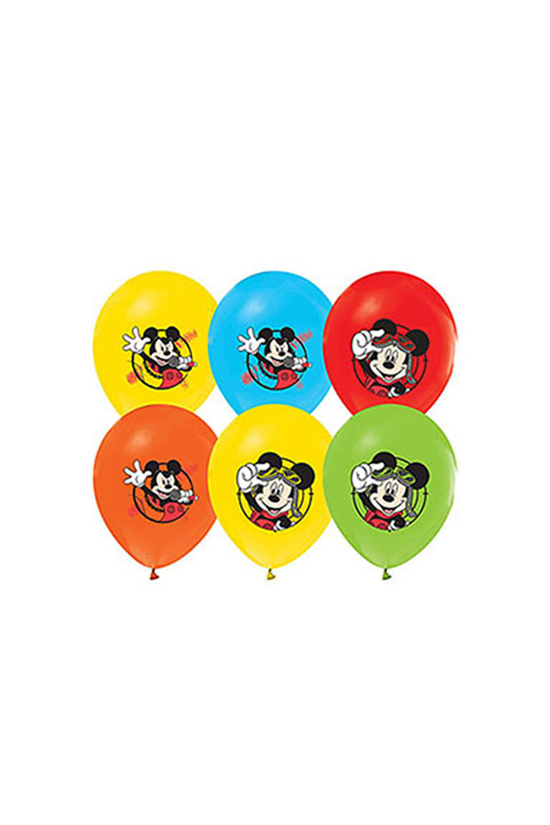 Mickey Baskılı Balon 10lu - Thumbnail