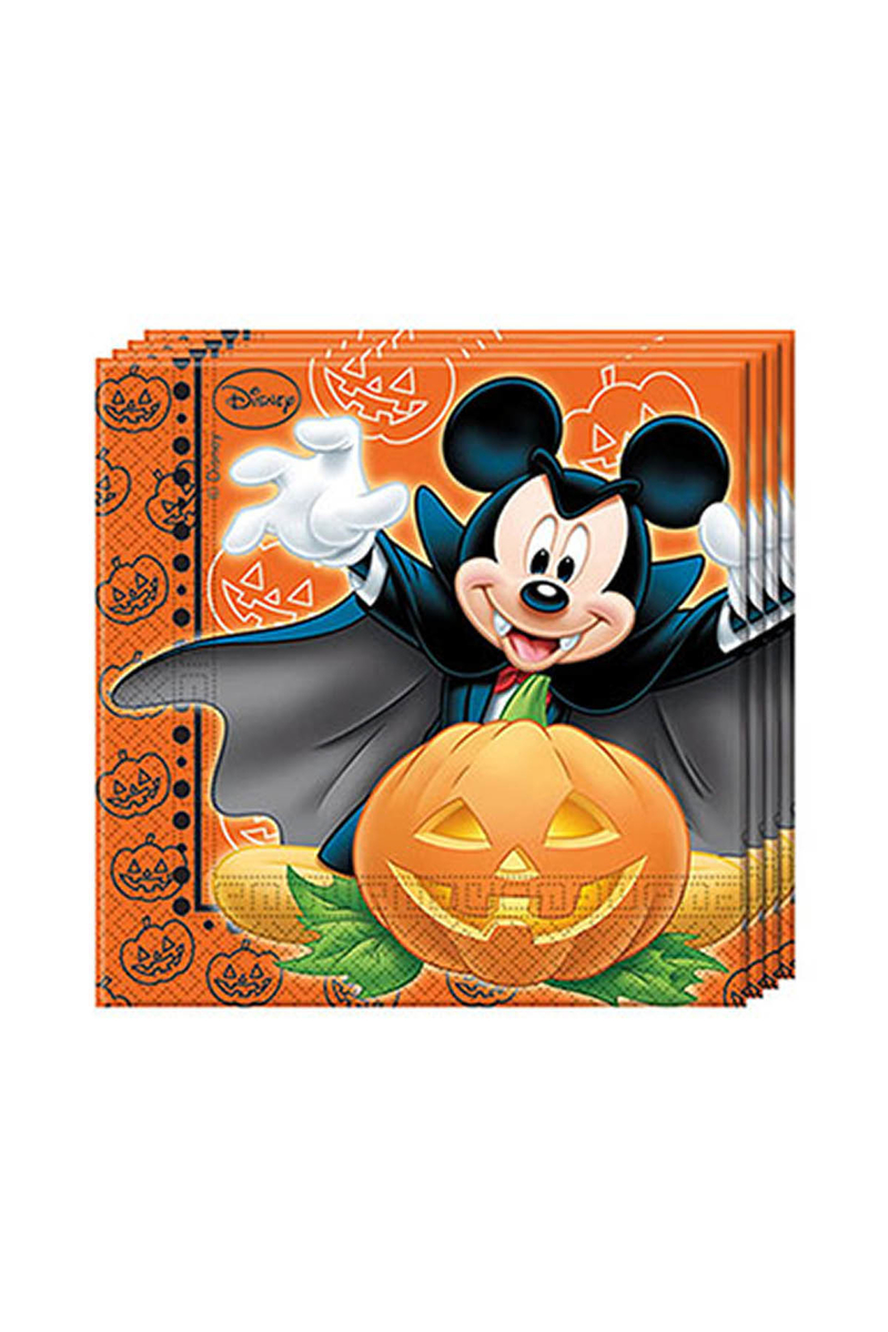 Mickey Halloween Kağıt Peçete 33x33cm 20li