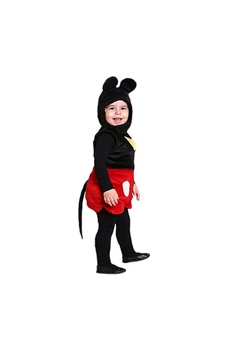 Mıckey Mouse Kostüm 3-4 Yaş 1 Adet - Thumbnail