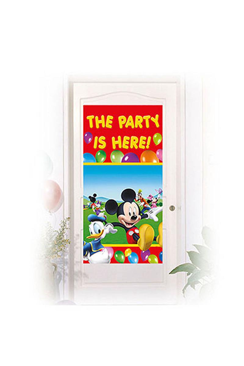 Mickey Playful Kapı Afişi 1 Adet