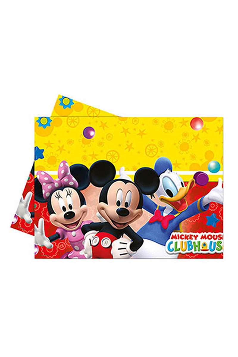 Mickey Playful Plastik Masa Örtüsü 120x180cm 1 Adet