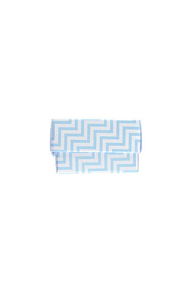Mini Bebek Mavisi Zigzag Kutu 10lu