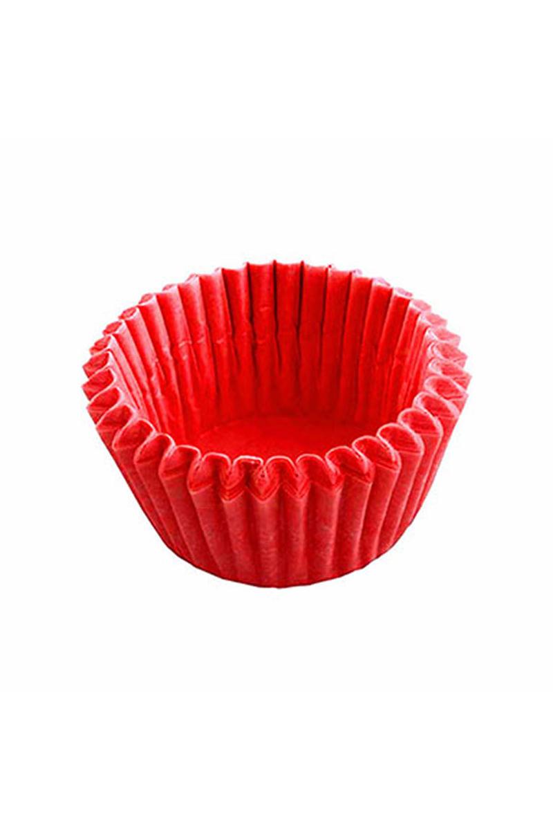 Kırmızı Mini Muffin Kağıdı 1000li