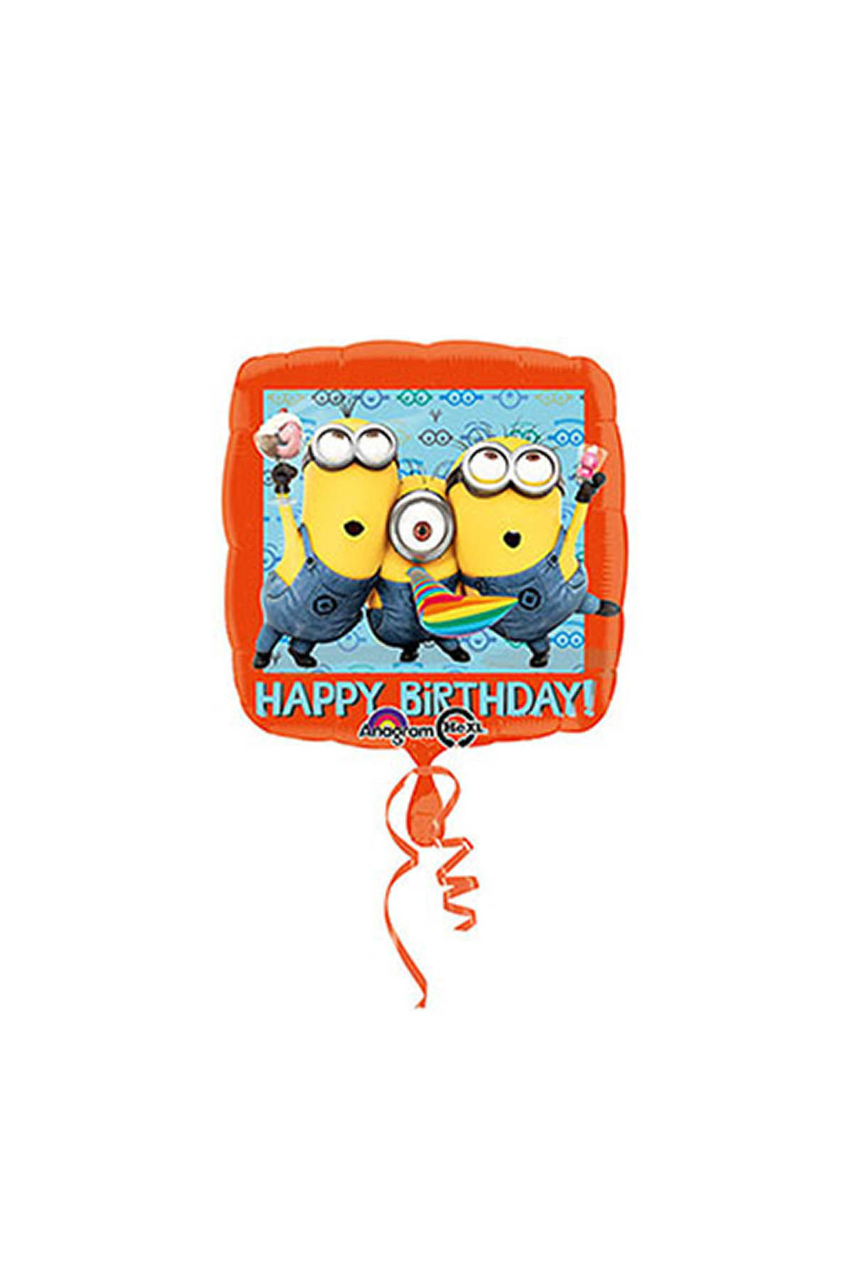 Minion Happy Birthday Folyo Balon 43 cm