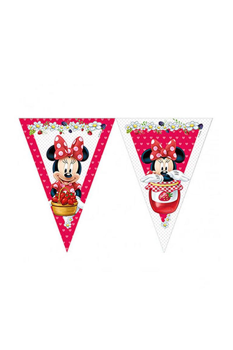 Minnie Çilek Bayrak Afiş 1 Adet