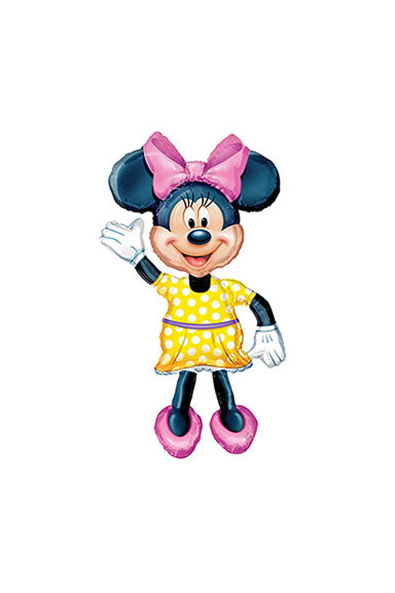 Minnie Mouse AirWalker Folyo Balon 1 Adet