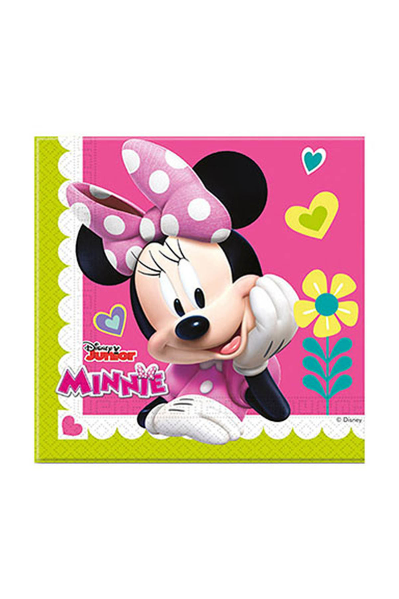 Minnie Mutlu Arkadaşlar Kağıt Peçete 33x33cm 20li