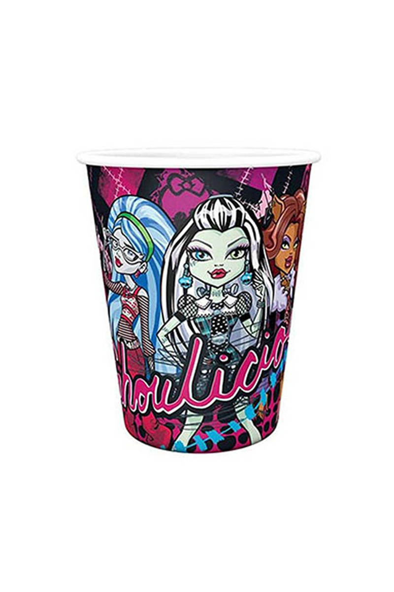 Monster High Klasik Karton Bardak 200cc-8oz 8li