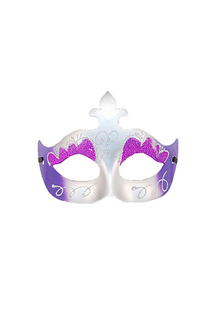 Mor Simli Balo Maske 1 Adet