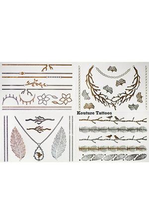 Mücevher Görünümlü Geçici Dövme (Dolce Vita) - Thumbnail