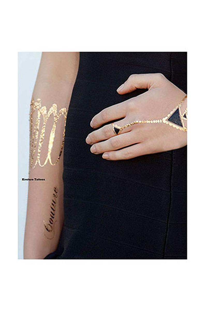 Mücevher Görünümlü Geçici Dövme (Forever Yasmin) 4lü