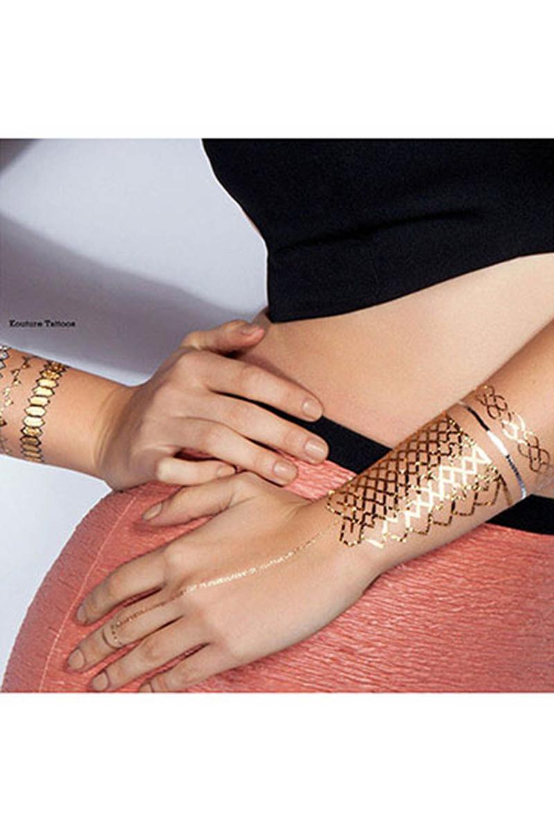 Mücevher Görünümlü Geiçici Dövme (Stolen Dance) 4lü - Thumbnail