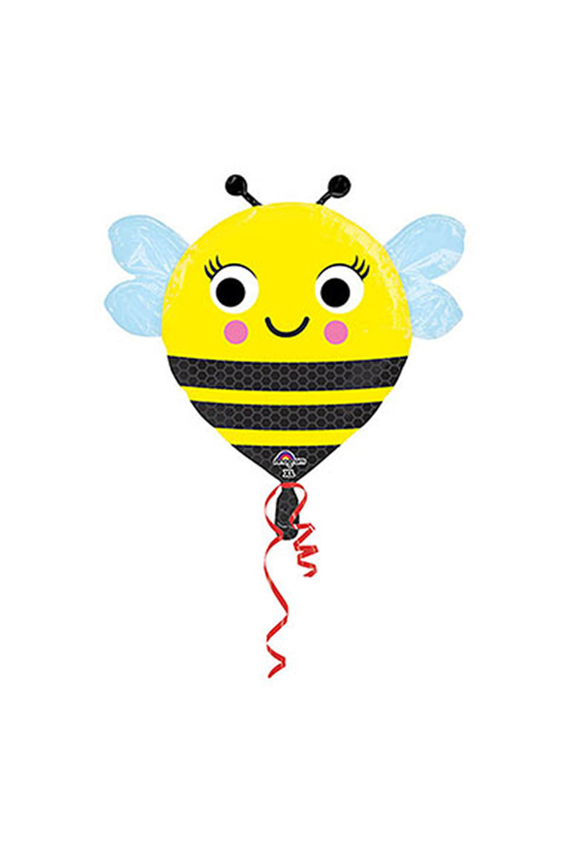 Mutlu Arı JuniorShape Folyo Balon 55cm 1 Adet