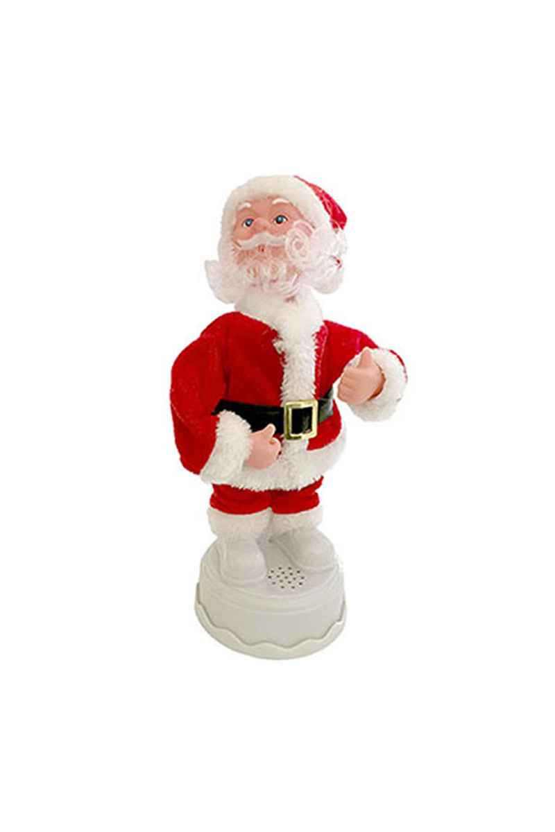 Müzikli Noel Baba 25cm 1 Adet