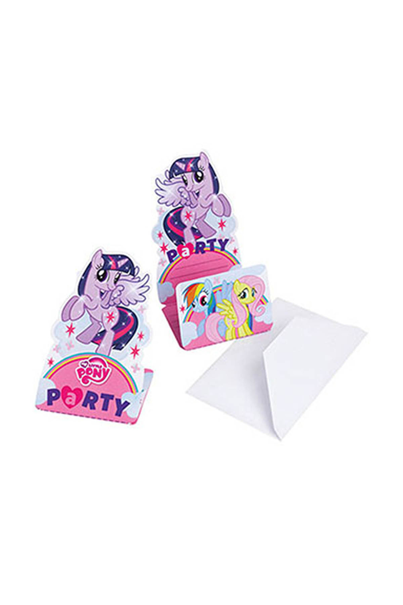 My Little Pony Rainbow Davetiye 8li