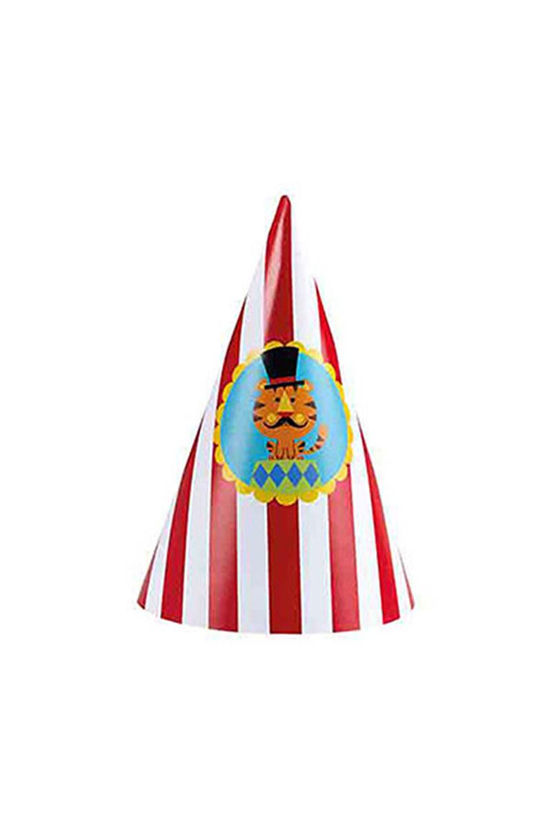 Neşeli Sirk Külah Şapka 8li