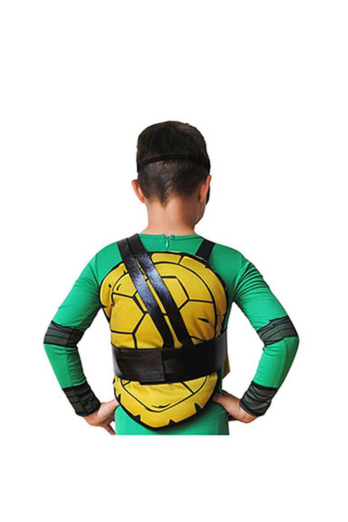 Ninja Kaplumbağalar Leonardo Kostüm 4-6 Yaş