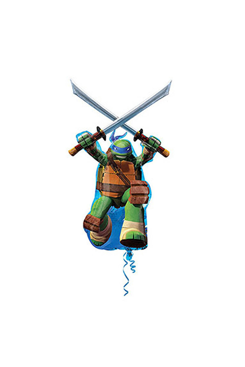 Ninja Leonardo SuperShaped Folyo Balon 66 x 109cm 1 Adet