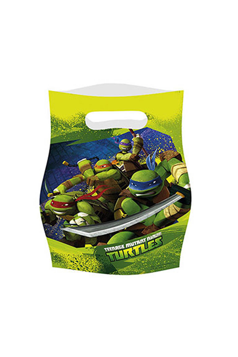 Ninja Turtles Parti Çantası 6lı