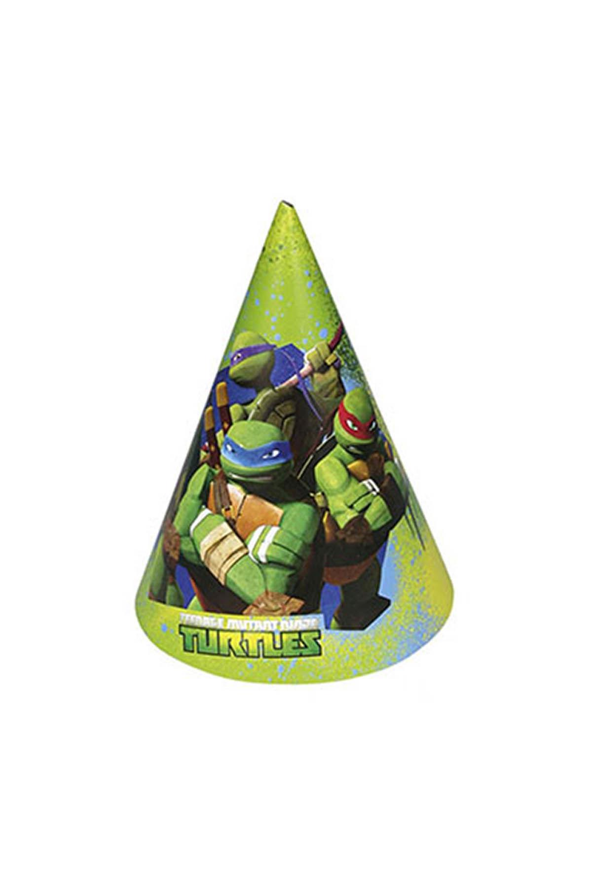 Ninja Turtles Parti Şapkası