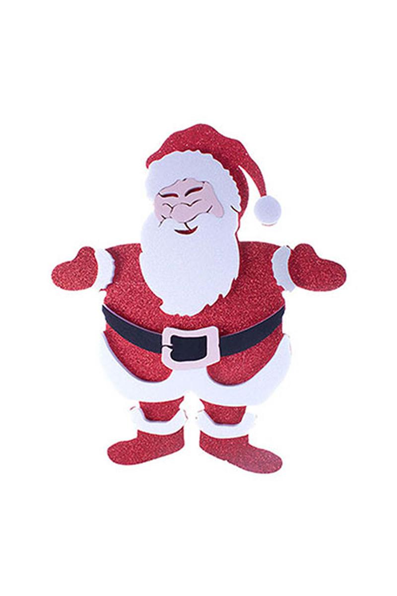 Noel Baba Duvar Süs 48 x 36cm 1 Adet