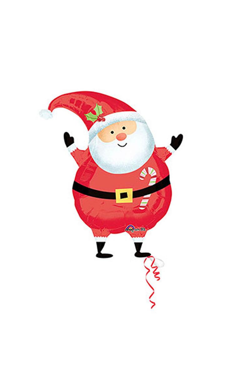Noel Baba JuniorShape Folyo Balon 1 Adet
