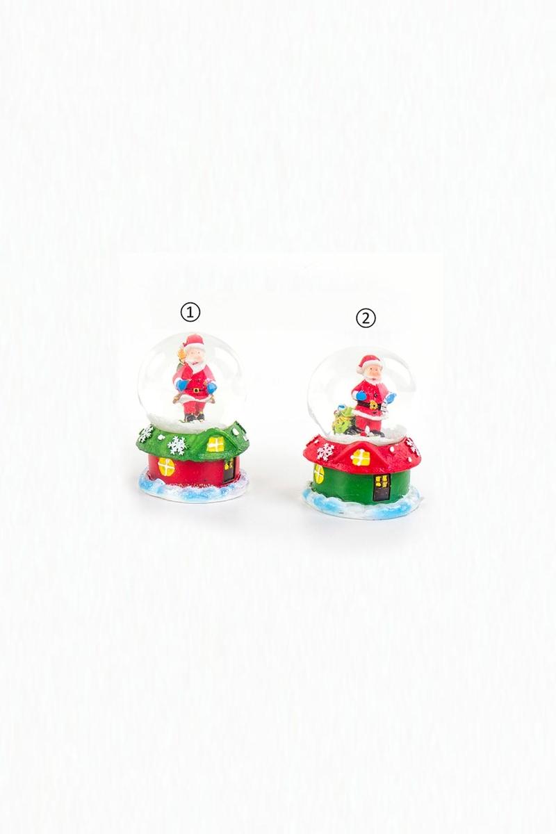 Noel Baba Kar Küresi Yılbaşı Hediyesi 4,5x7cm 1 Adet