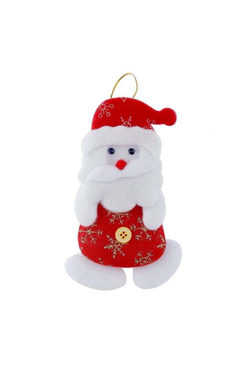 Noel Baba Peluş Asma Süs