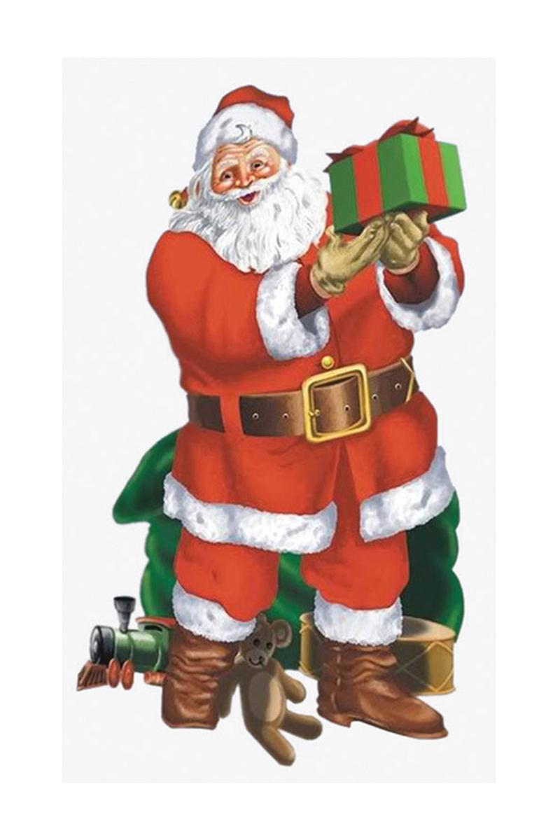 Noel Baba ve Çuvalı Duvar Dekoru 165cm x 85cm 1 Adet