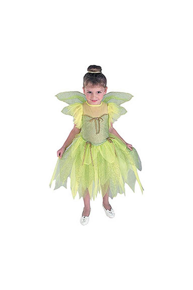 Orman Perisi Lüks Çocuk Kostüm 4-6 Yaş 1 Adet