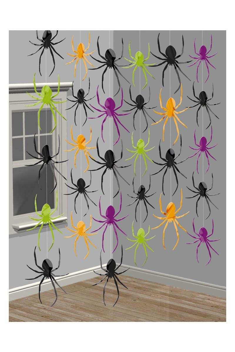 Örümcek İp Süs 6lı