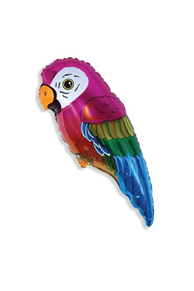 Papağan Minishape Folyo Balon 35cm