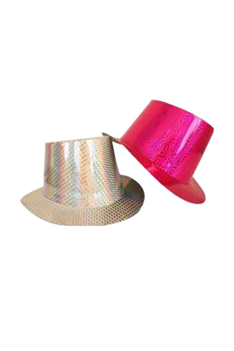 Parlak Fötr Şapka 1 Adet
