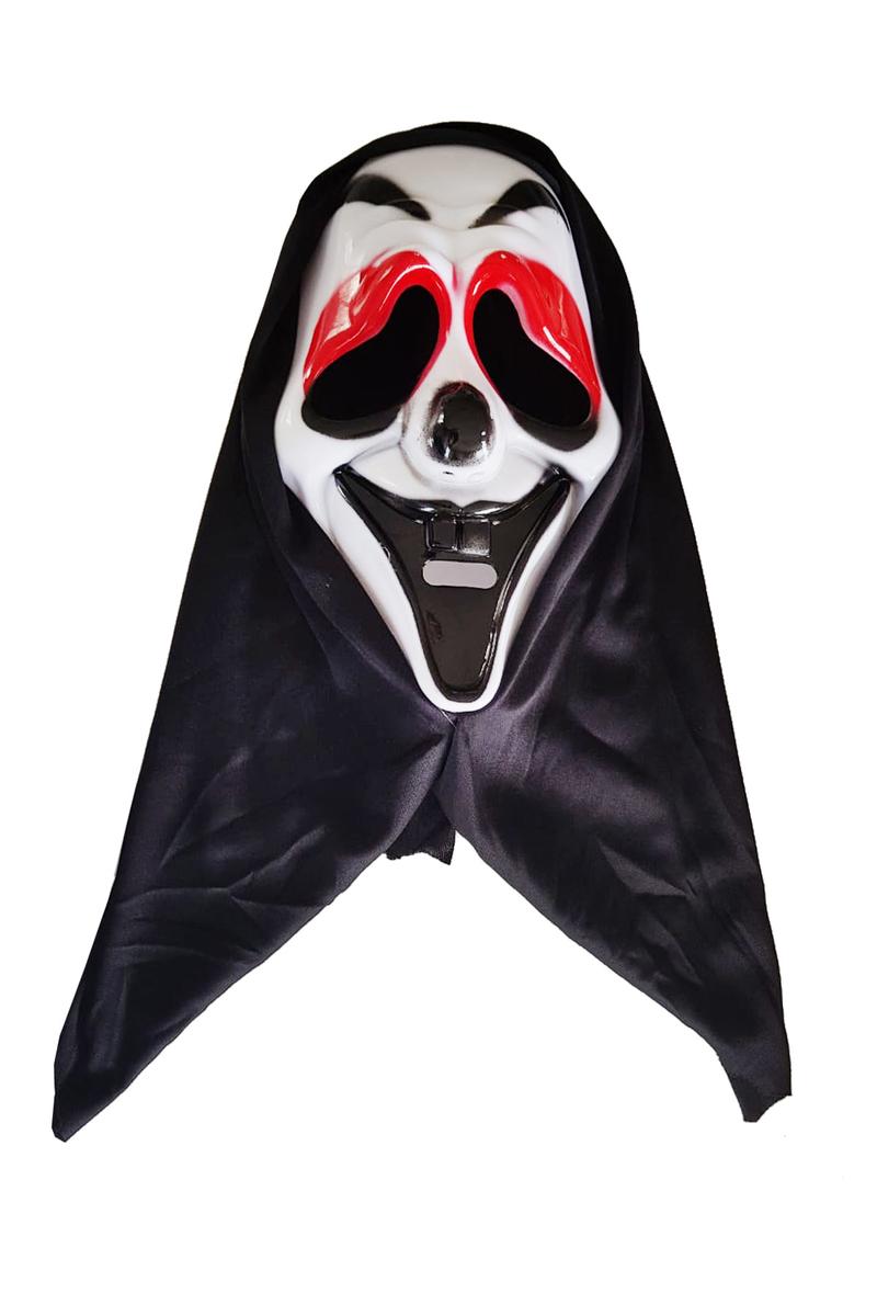 Pelerinli Çığlık Maske Lüks 1 Adet