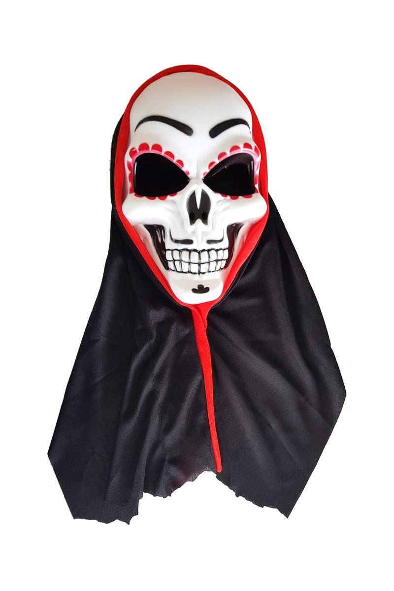 Pelerinli Kurukafa Maske Lüks 1 Adet