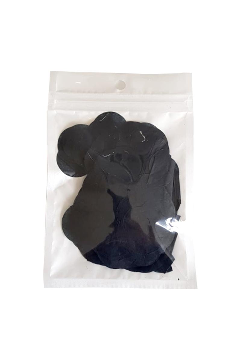 Pelür Siyah Balon Konfetisi 10gr