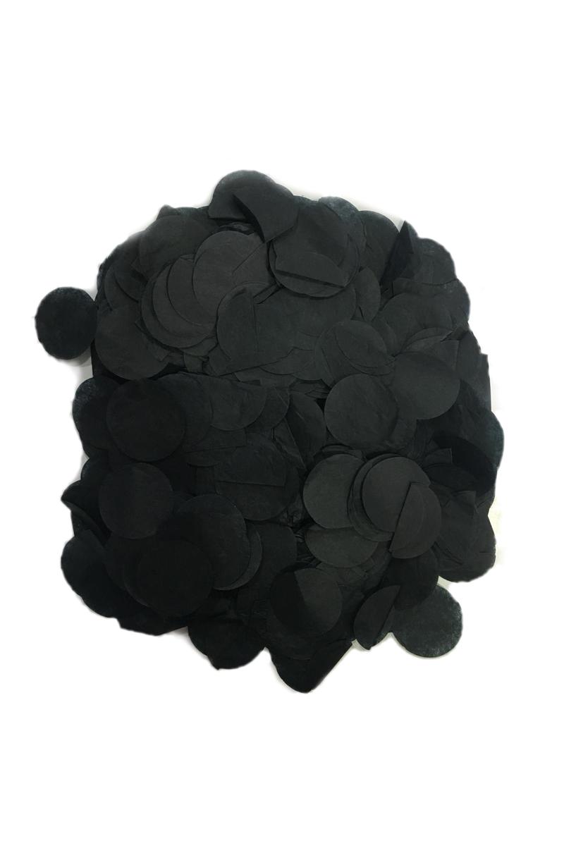Pelür Siyah Balon Konfetisi 10gr - Thumbnail