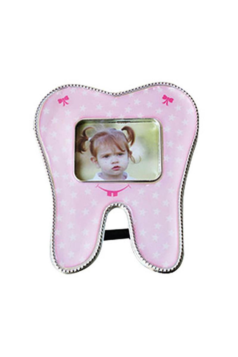 Pembe Diş Hediyelik Magnetli Çerçeve 1 Adet