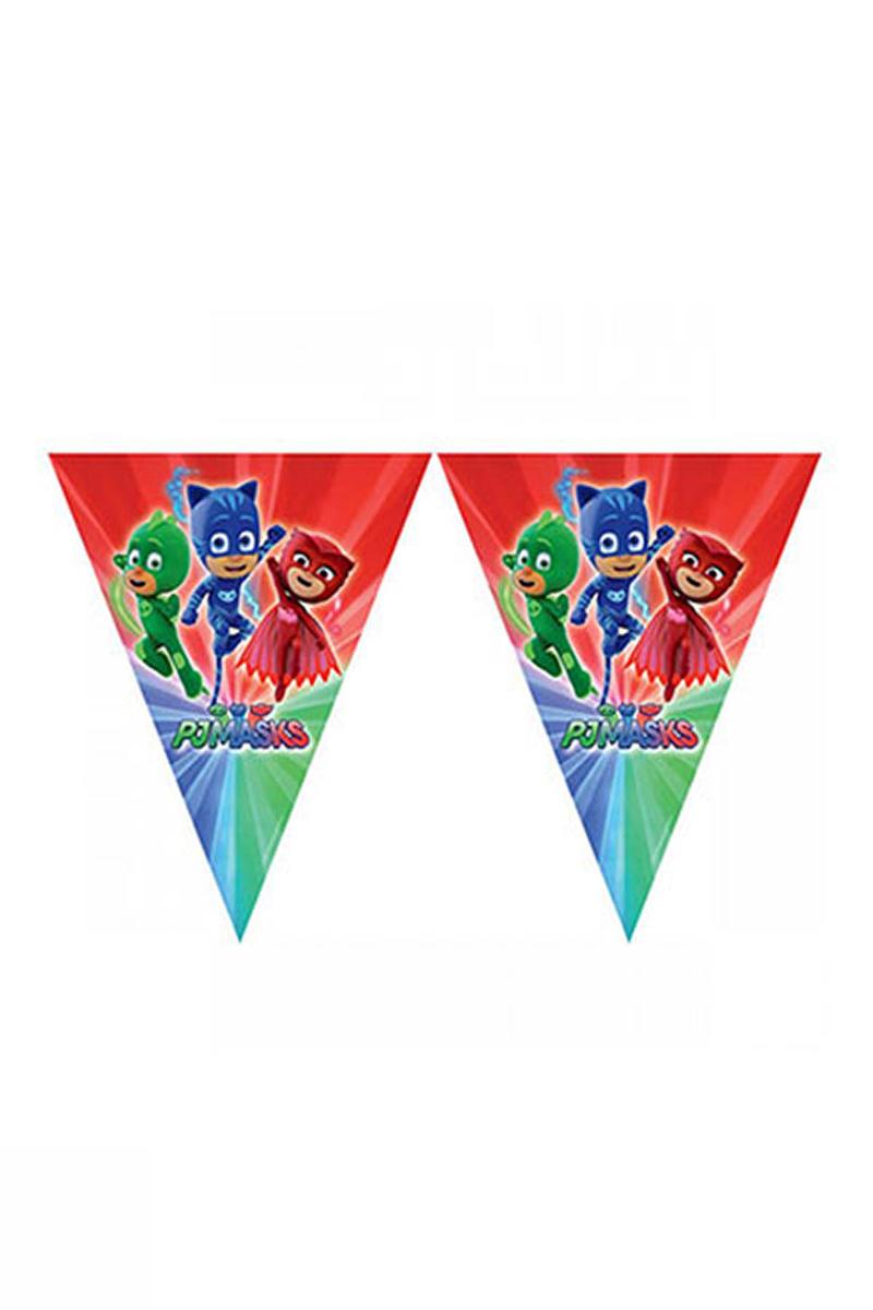 Pj Masks-Pija Maskeliler Bayrak Afiş 1 Adet