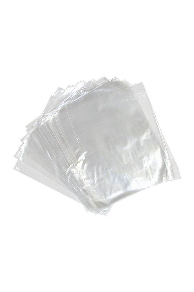 Plastik Şeffaf Bakkaliye Poşeti 15 X 30cm (Yarım Kiloluk) 1kg - Thumbnail