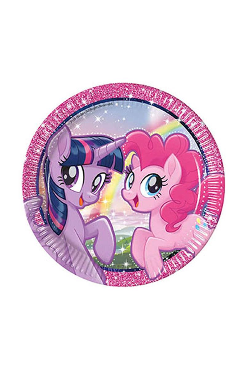 Pony ve Arkadaşları Kağıt Tabak 23cm 8li