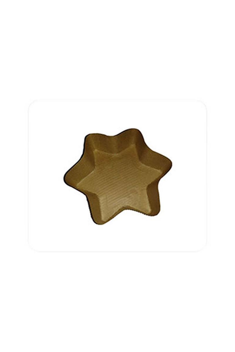 Porsiyonluk Yıldız Kek Kalıbı 5li