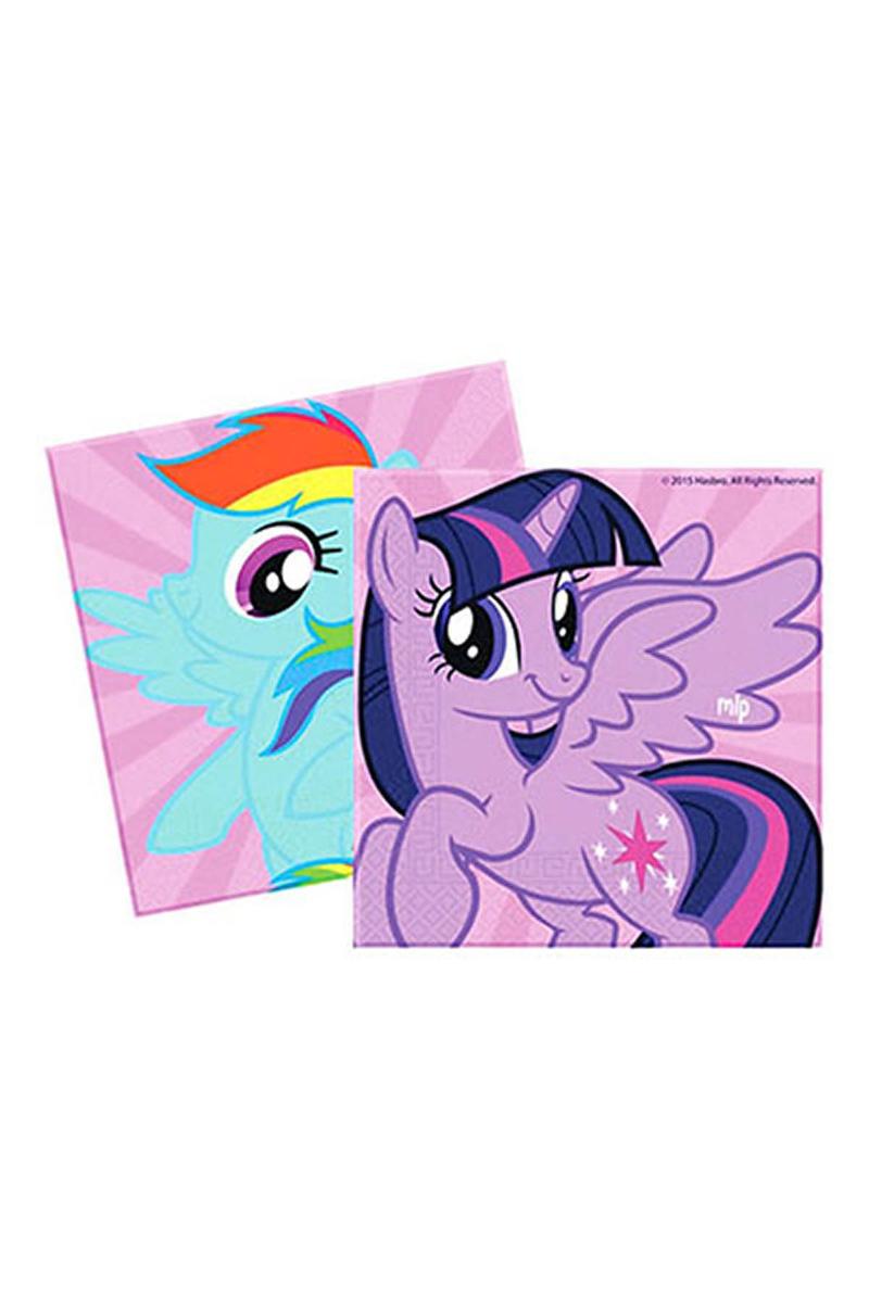 Rainbow Pony Kağıt Peçete 33x33cm 20li