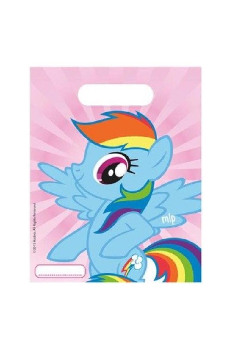 Rainbow Pony Parti Çantası 6lı