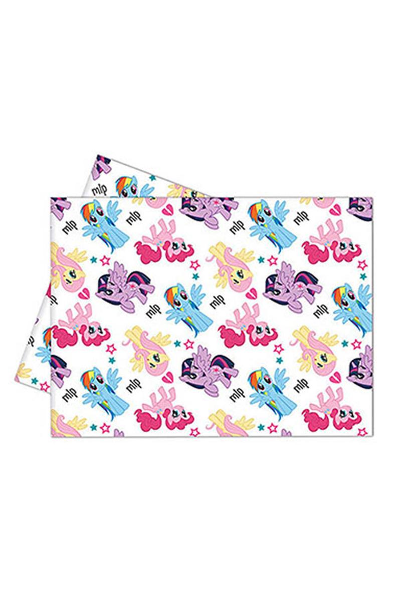 Rainbow Pony Plastik Masa Örtüsü 120x180cm 1 Adet